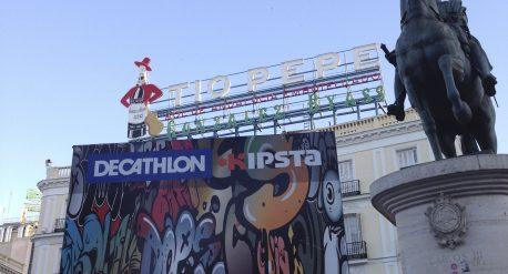 Evento Decathlon Puerta del Sol