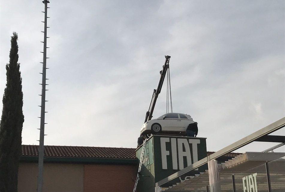 Montajes Publicitarios - Fiat Cafe La Moraleja