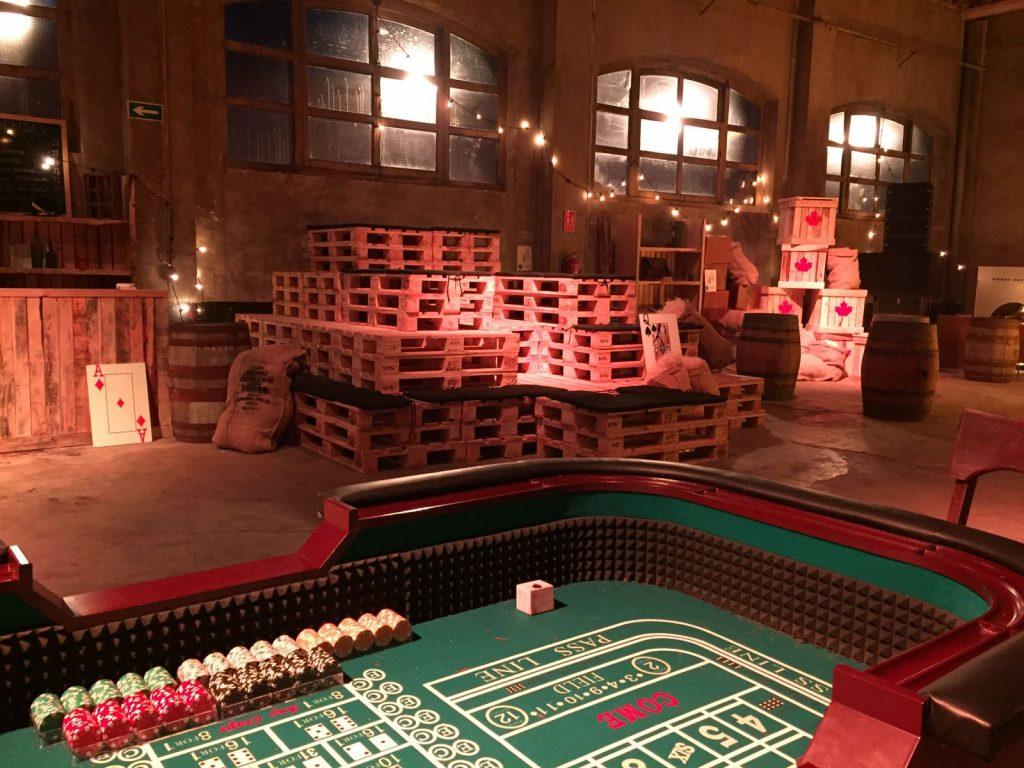 Producción de Eventos - Cine Inmersivo - Cine Inmersivo - Spectacular - Escena Casino 2