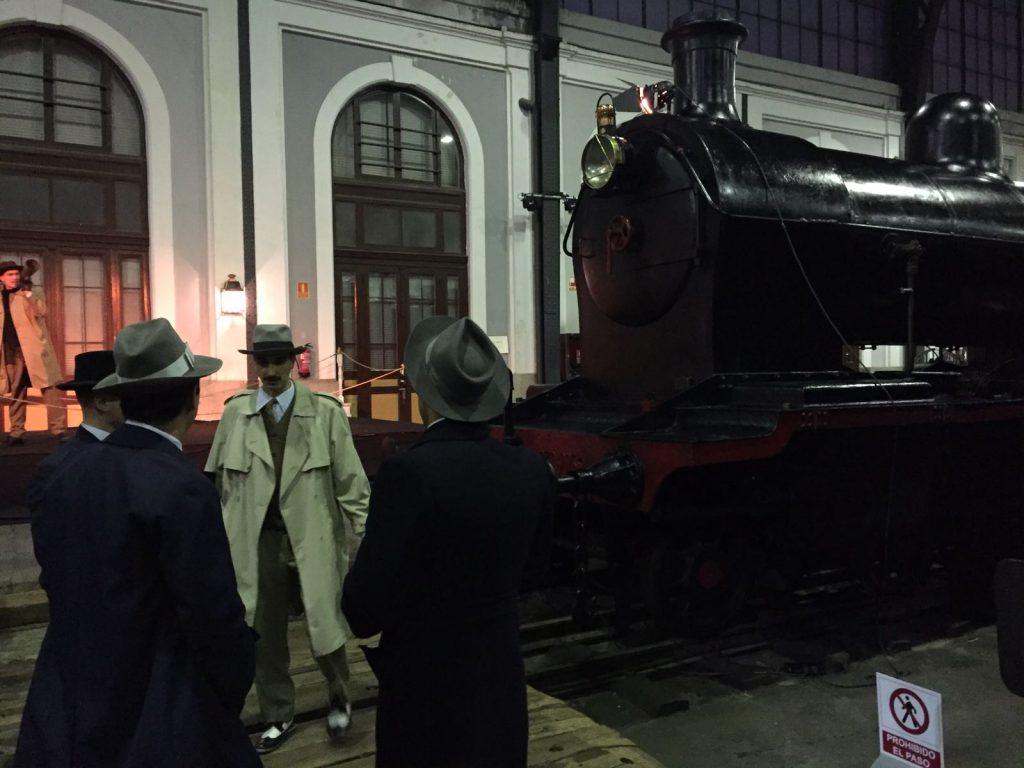 Producción de Eventos - Cine Inmersivo - Spectacular - Escena en la Estación 2