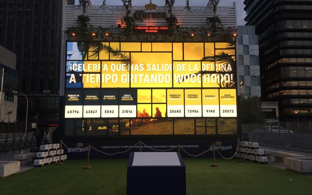 Evento Cerveza Coronita en Madrid