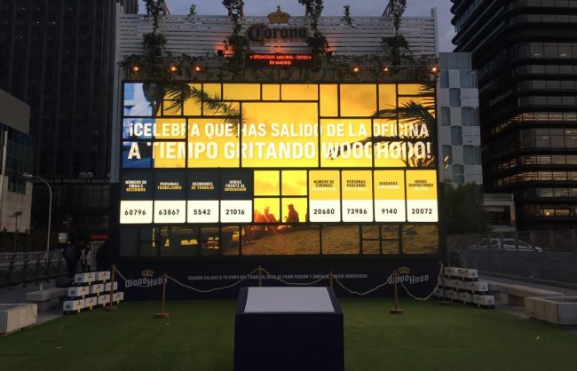 Evento Cerveza Coronita en Madrid