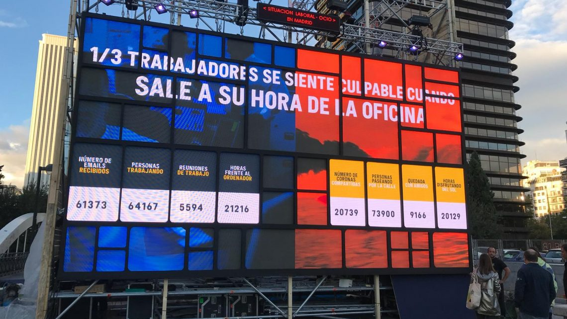 Montaje Evento Cerveza Coronita en Madrid